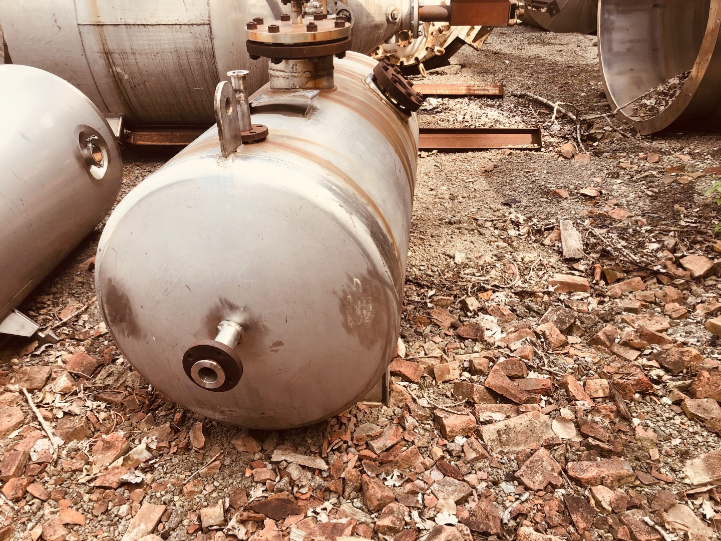 200 Gal Imperial Tank Receiver, S/S, 50#