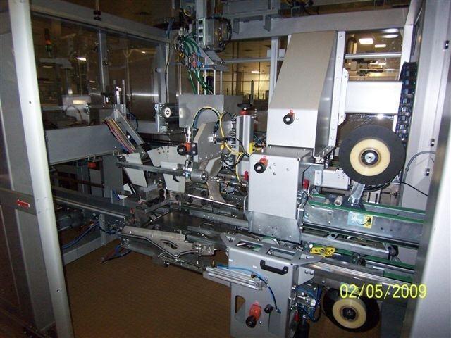 CERMEX SIDE TOP LOADING CASE PACKER, MODEL SD-59