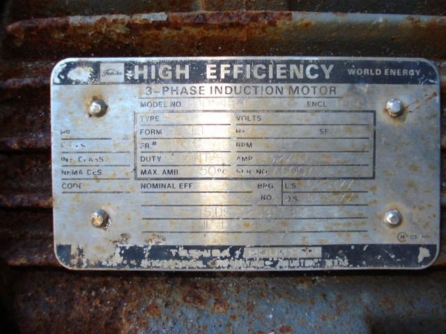 MAB 204S-24-60 ALFA LAVAL CENTRIFUGE, S/S, 5 HP