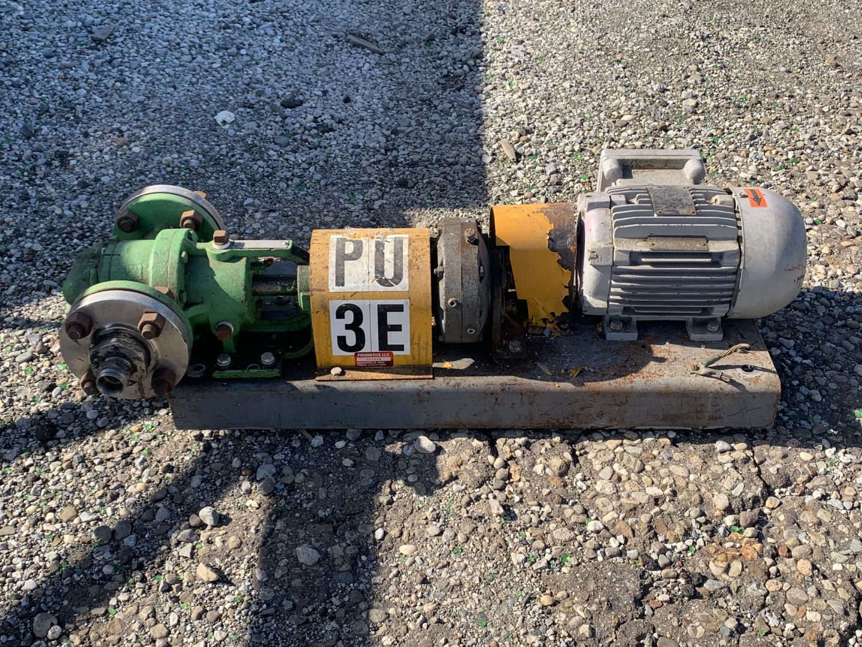 "2"" Viking Gear Pump, Model 14-4724-R, S/S, 1 HP"