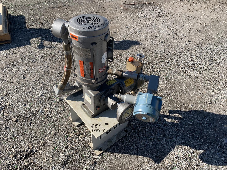 Braun+Luebbe Metering Pump, Model N-K31