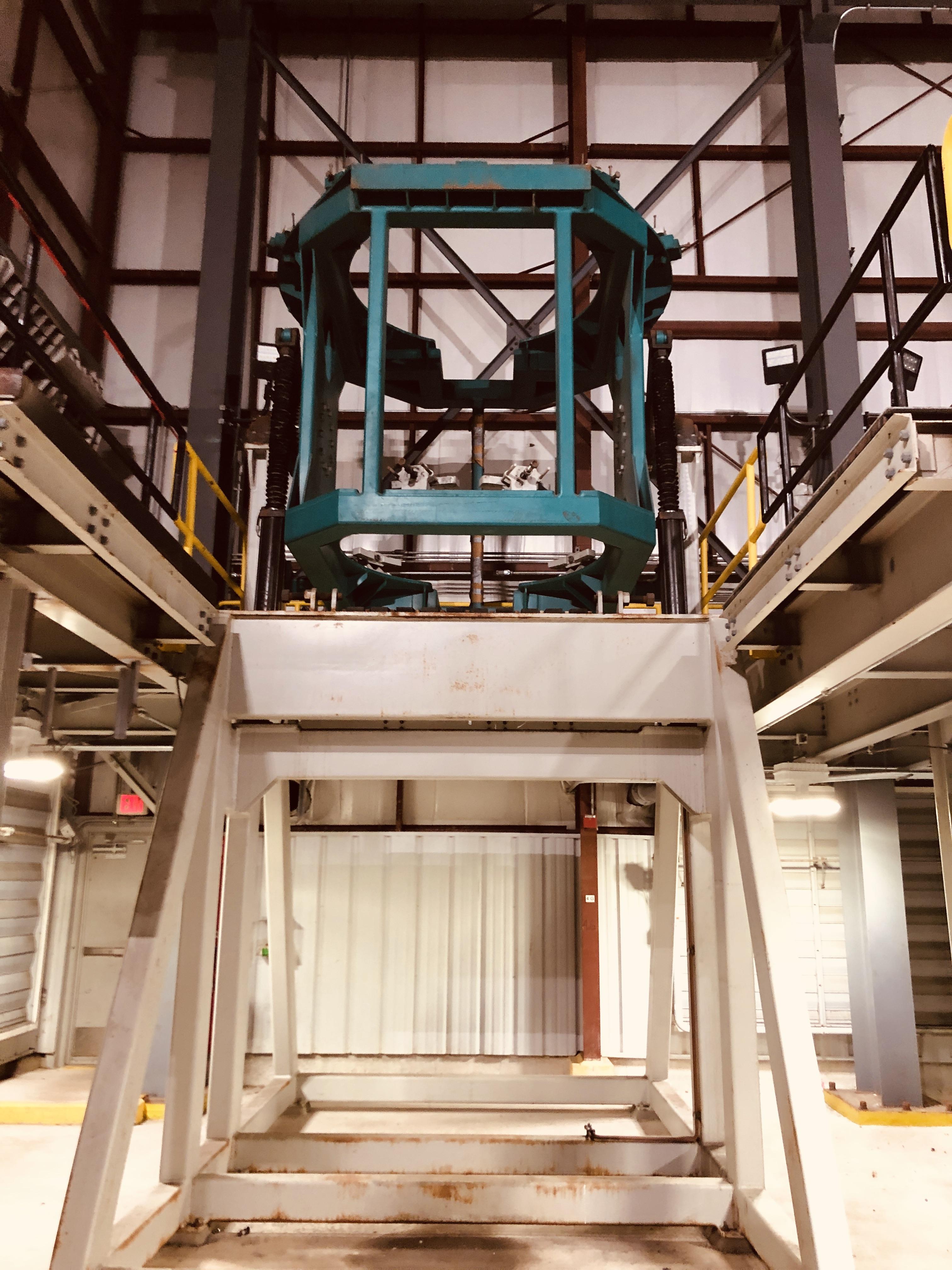 8' Kleenair Retort Furnace, 450 kW