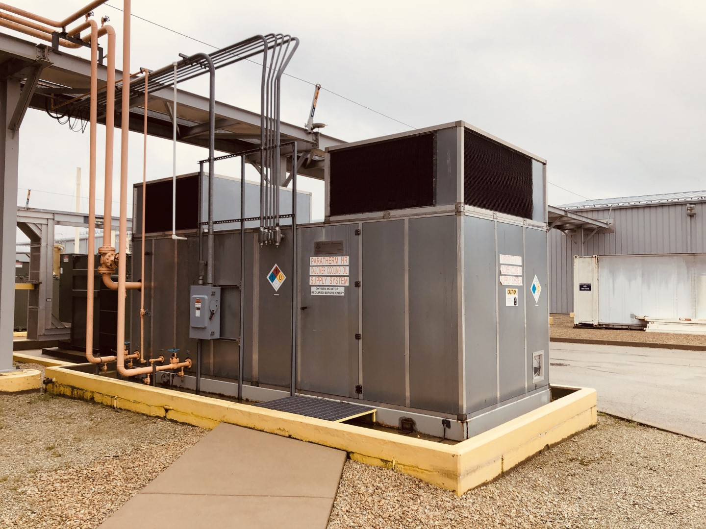 60 Ton Edwards Chiller, Model CE-75-A- 5ZB3, Air Cooled
