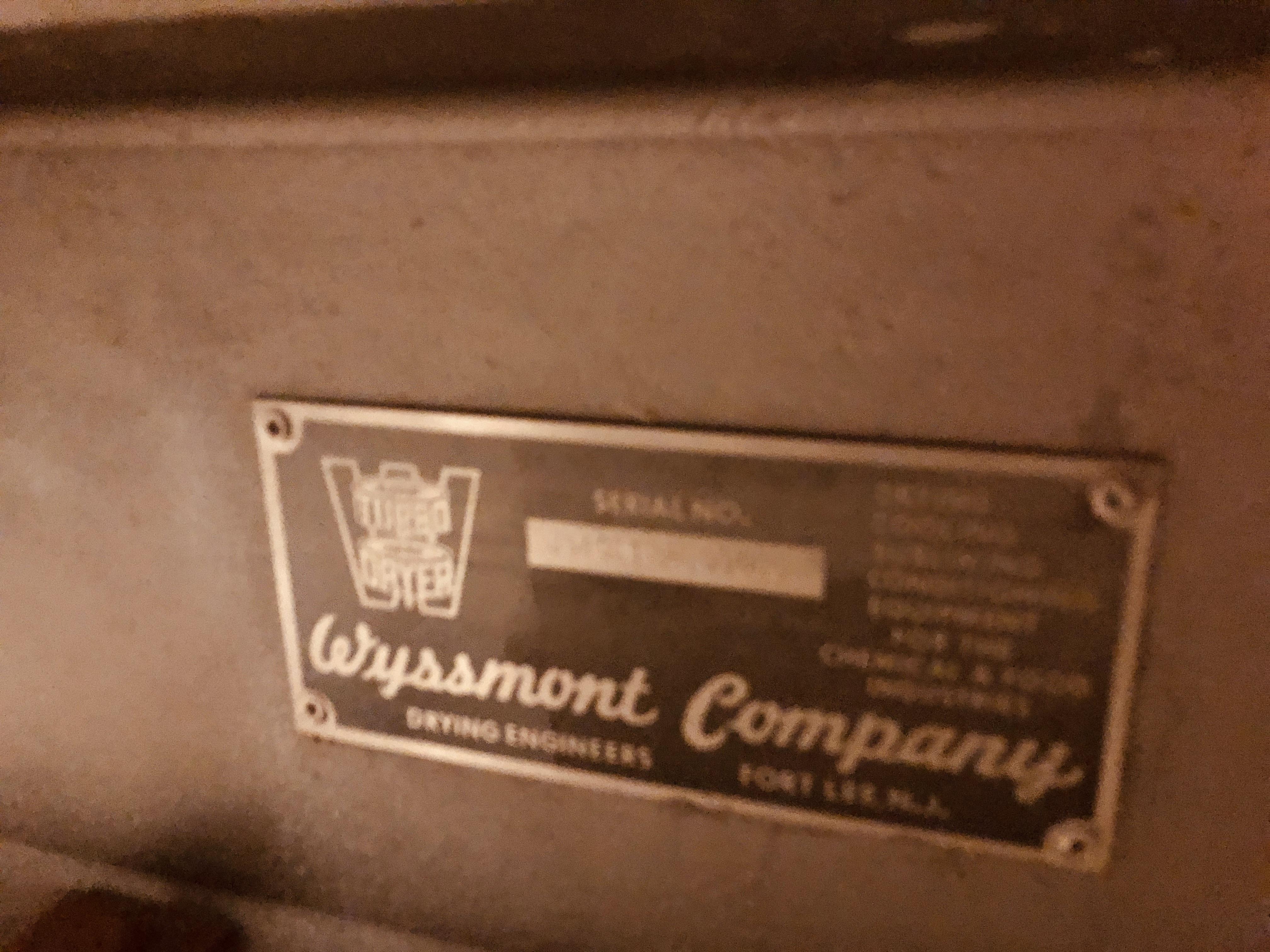 OE-32 Wyssmont Turbo Dryer, S/S
