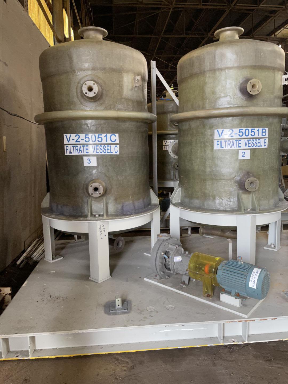 11.25 Sq Meter Komline Sanderson Belt Vacuum Filter