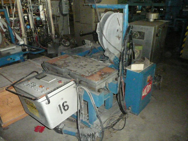 WIDOS POLYPRESS PIPE WELDER, 18