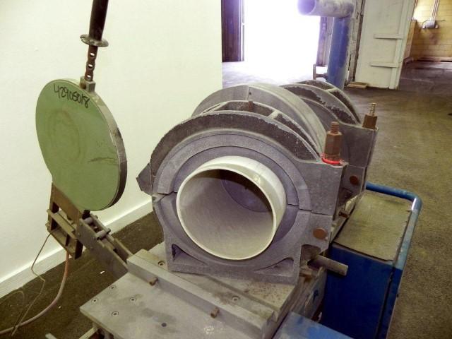 Widos Polypress Pipe Welder, model 4002 CNC
