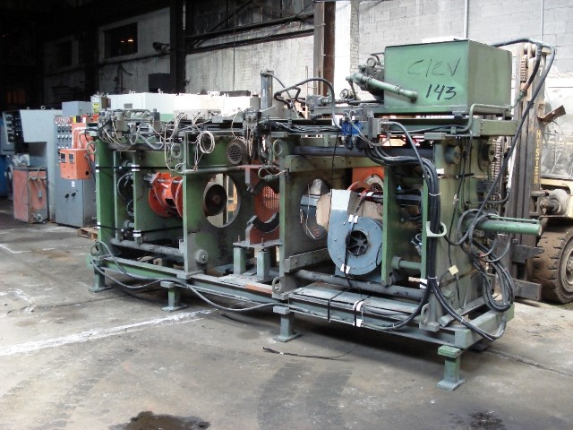 LYCRO PRODUCTS SEMI AUTOMATIC PIPE SOCKET FORMING MACHINE