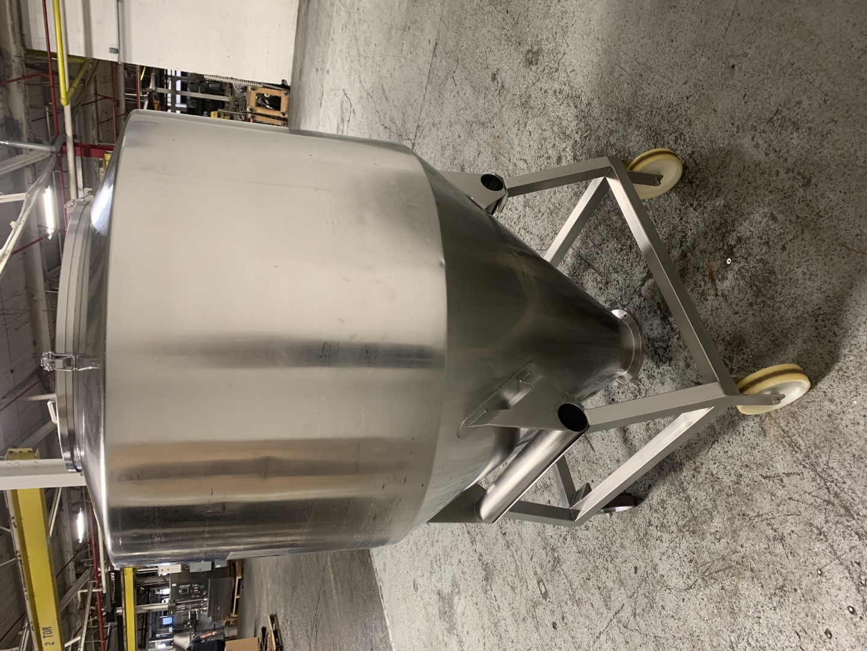 1,400 Liter LB Bohle Bin, S/S