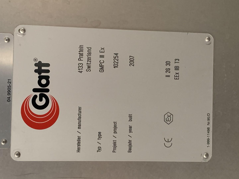 "36"" Glatt GMPC-3 EX Coating Pan, S/S"