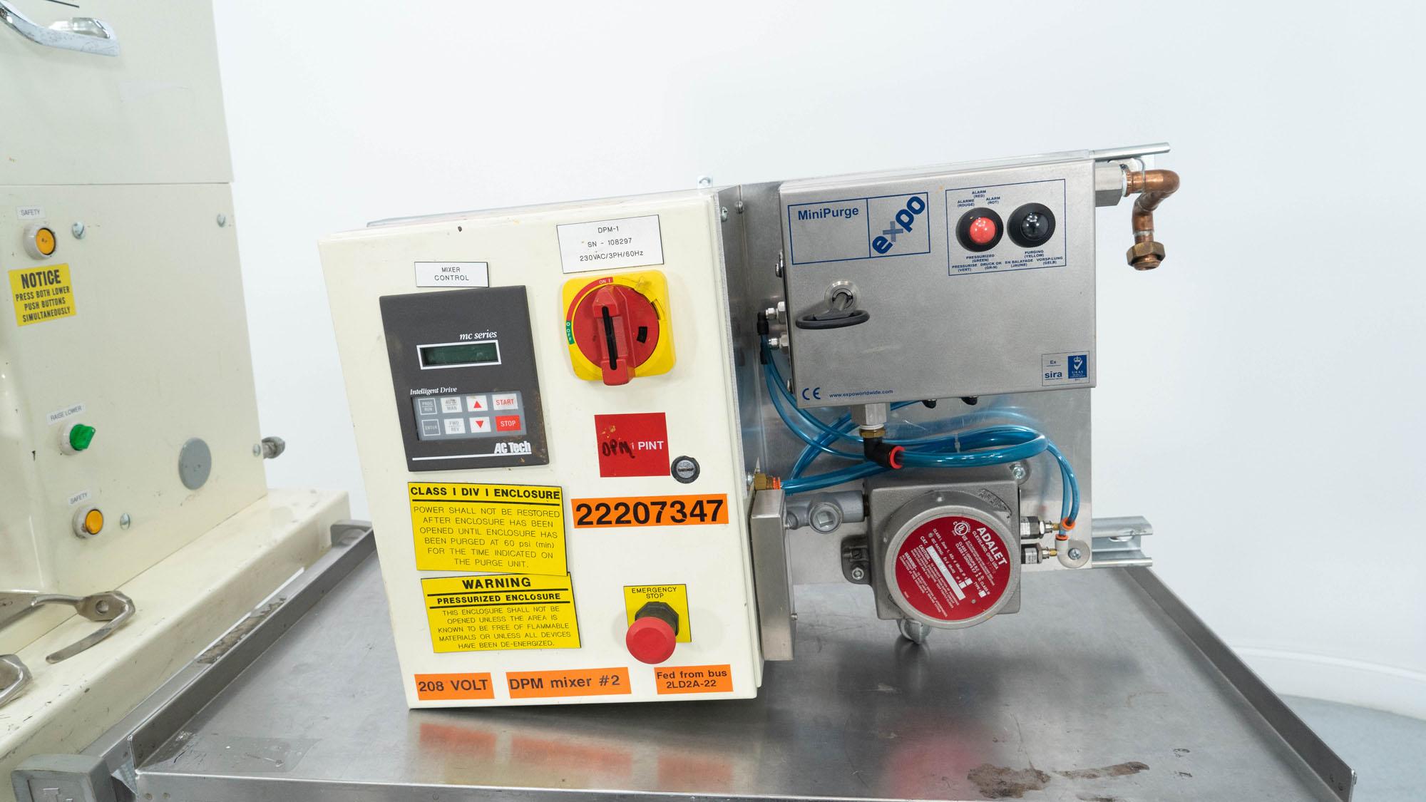 1 Pint Ross Planetary Mixer, Model DPM-1PT, S/S