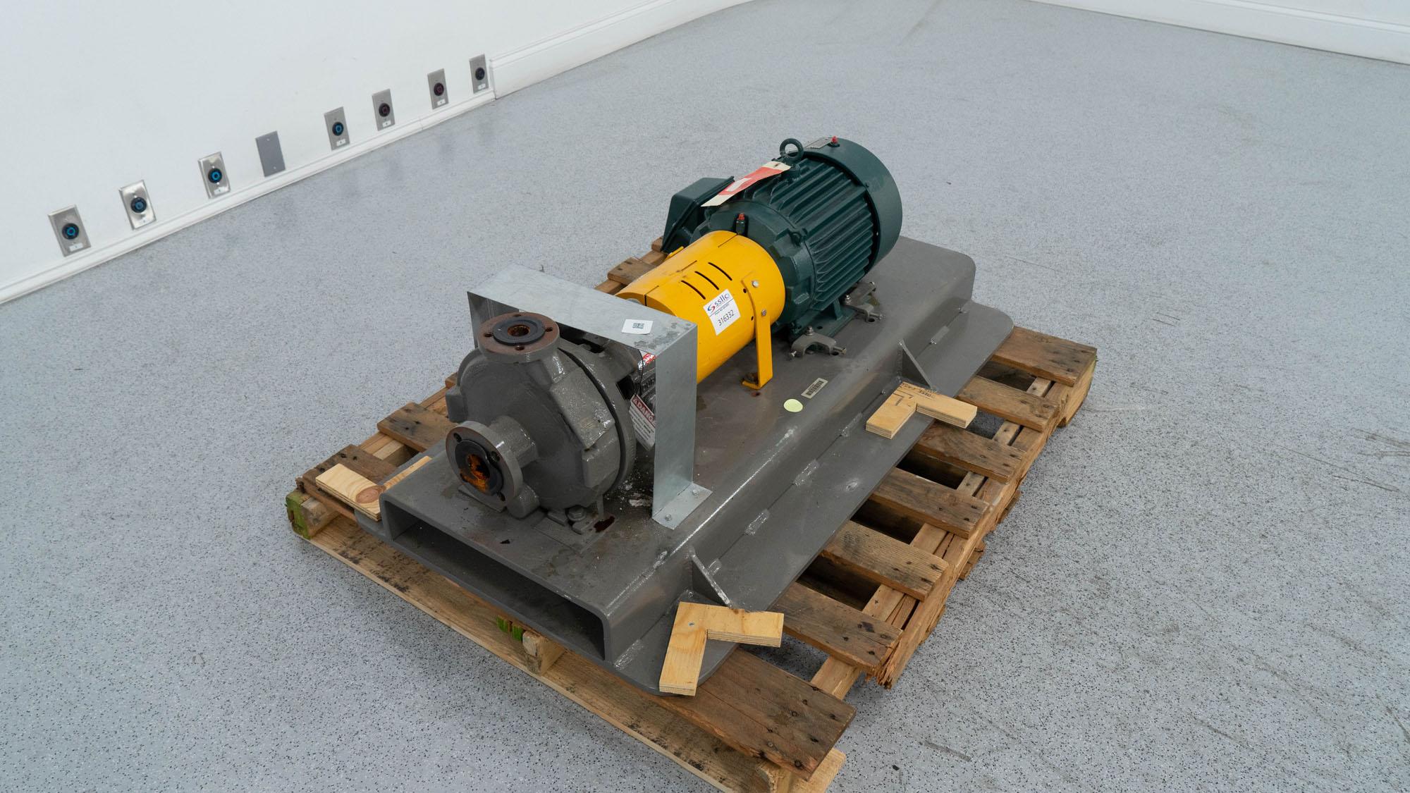 Flowservce Pump, Model MK3 Lo-Flo
