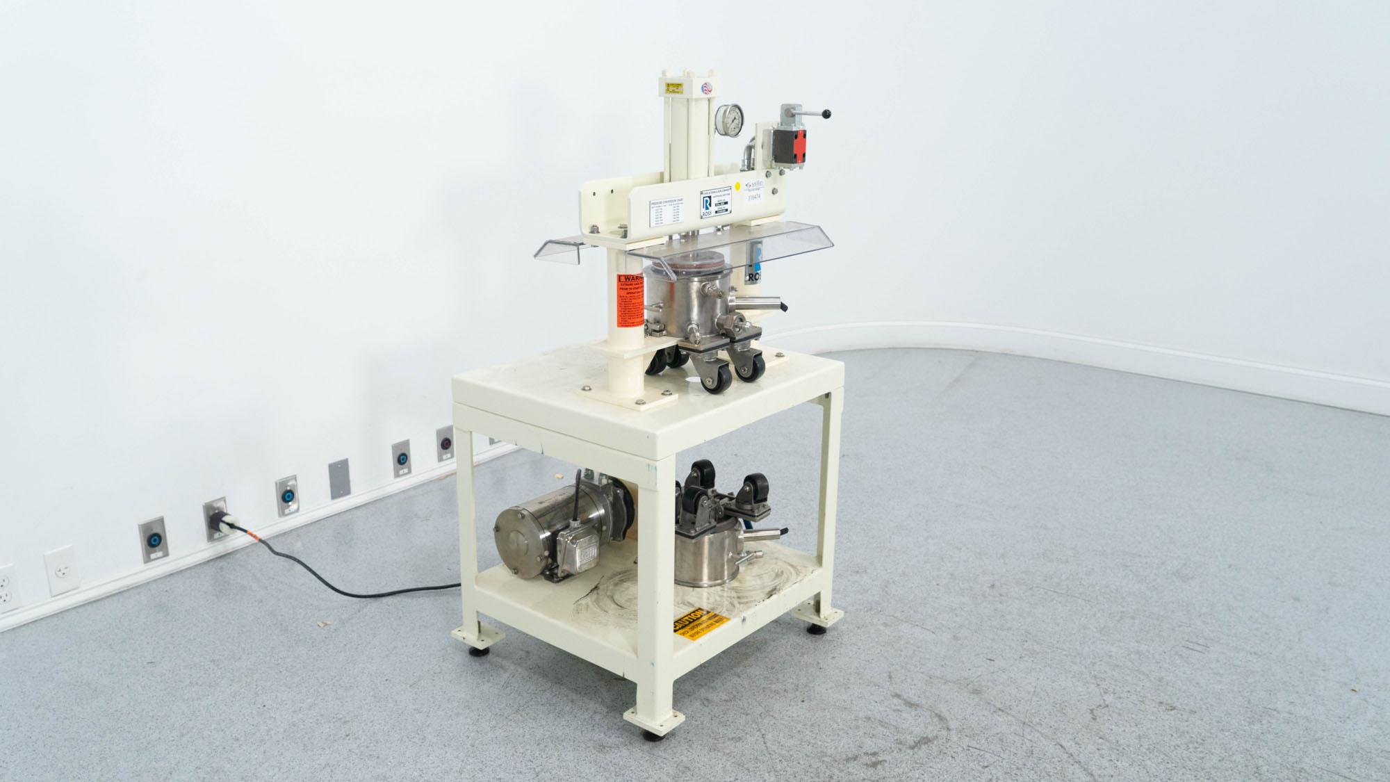 1 Quart Ross Discharge Press, Model DS-1QT