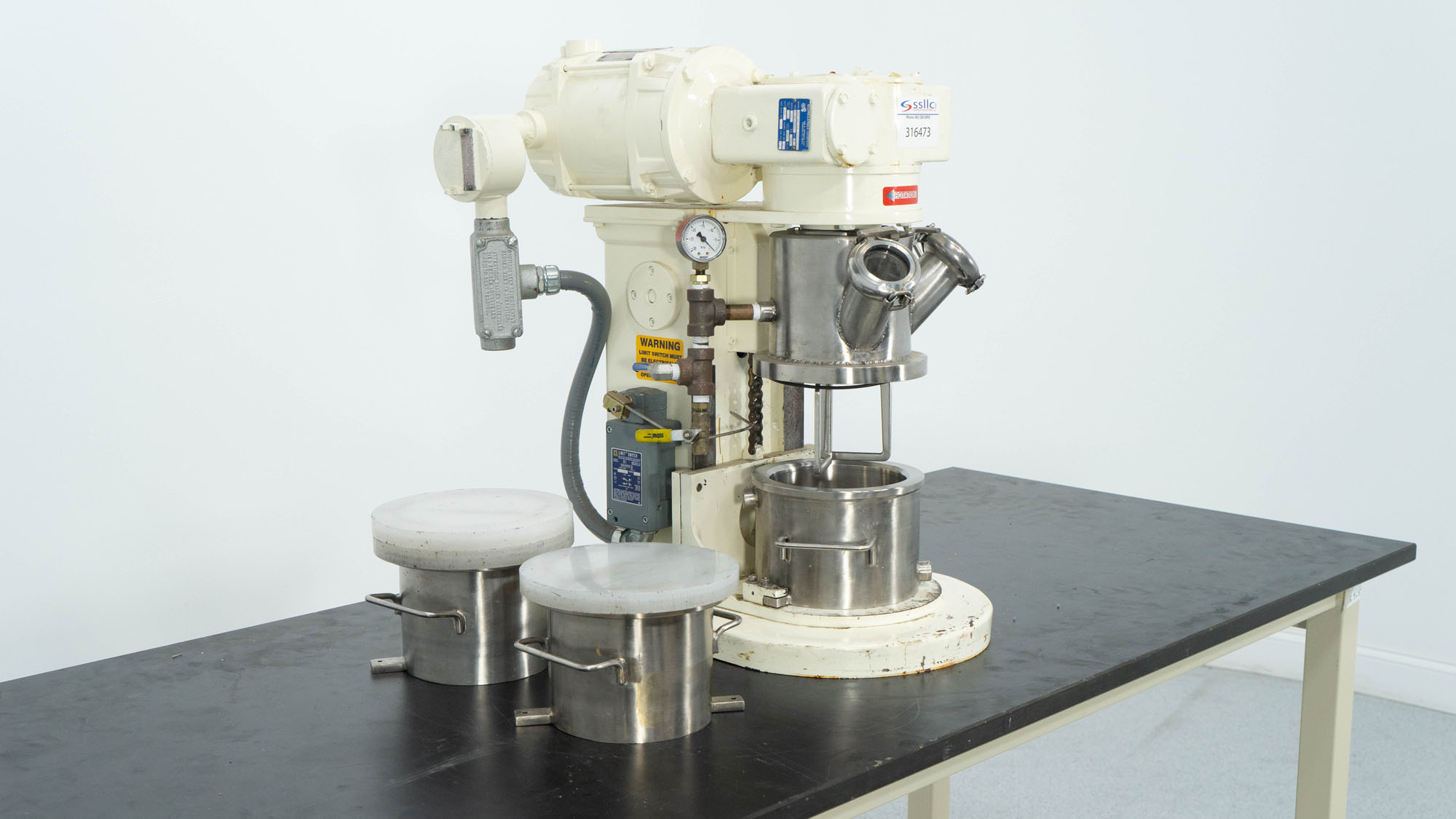 1 Quart Ross Planetary Mixer, Model LDM-1QT, S/S