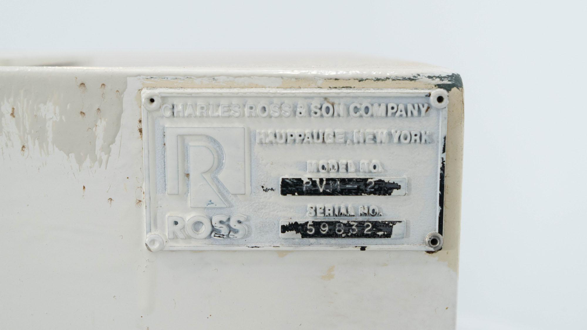 2 Gal Ross Planetary Mixer, Model PVM-2, S/S