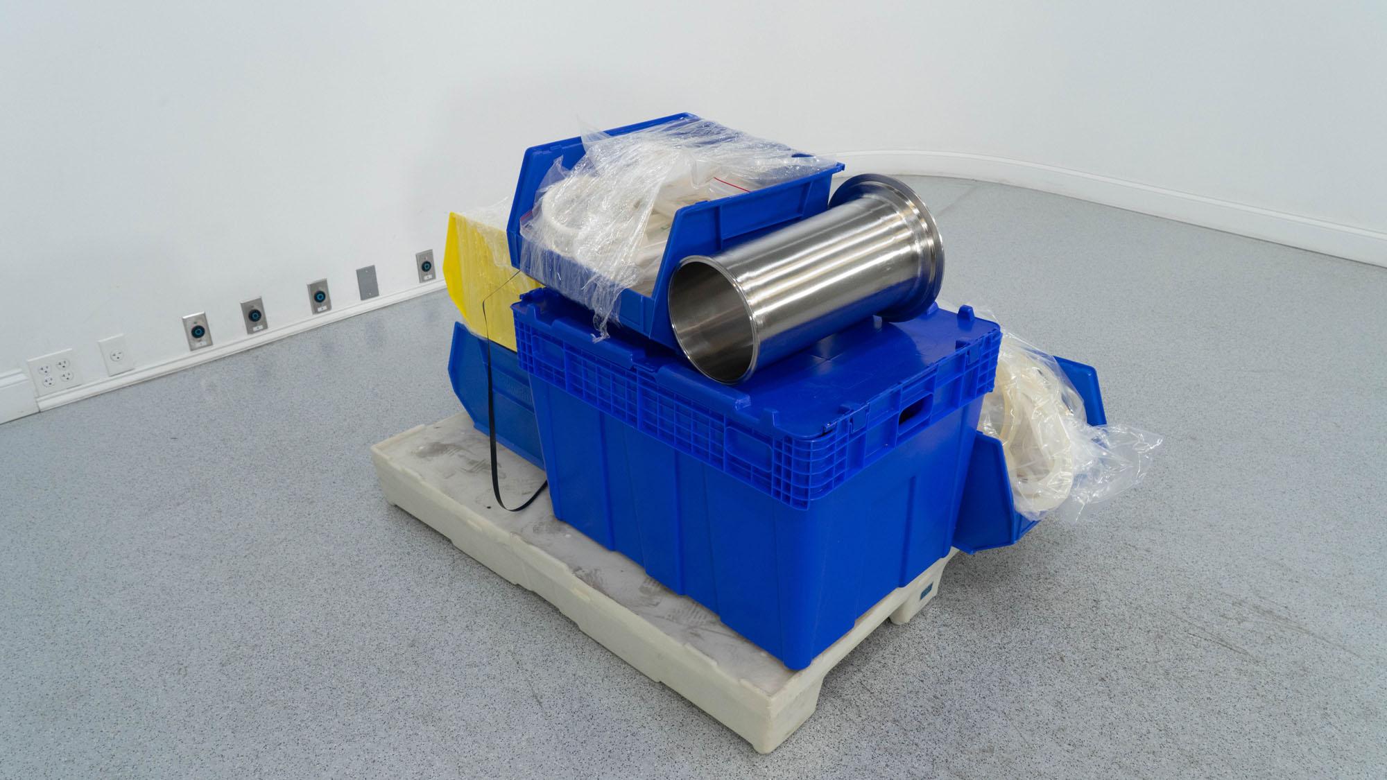 Glatt GPCG 5 Fluid Bed Dryer Chambers, S/S