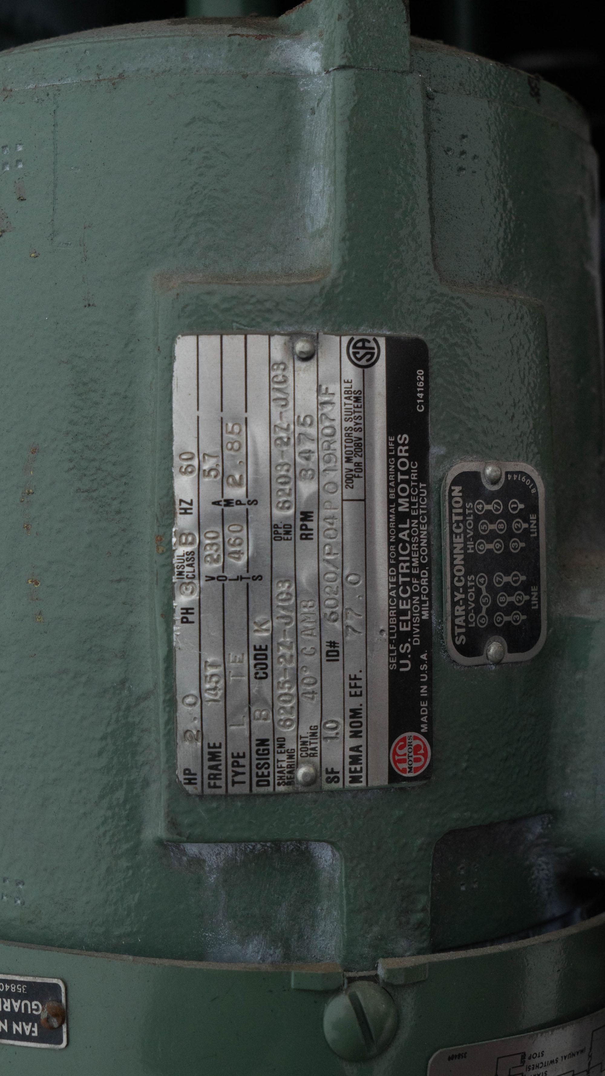 2 HP Myers Vacuum Mixer, Model VL775A-2, S/S, XP