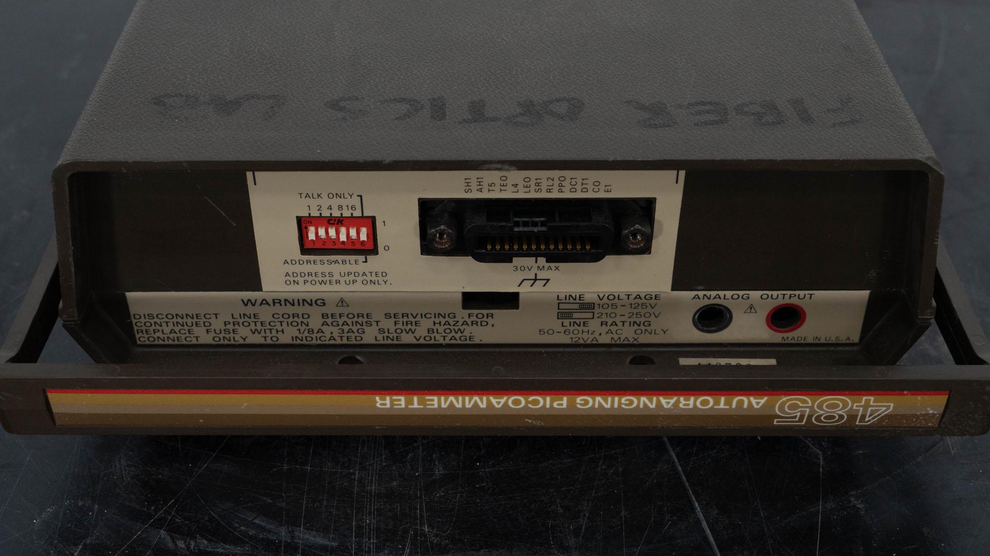 Keithley Digital Electrometer, Model 485