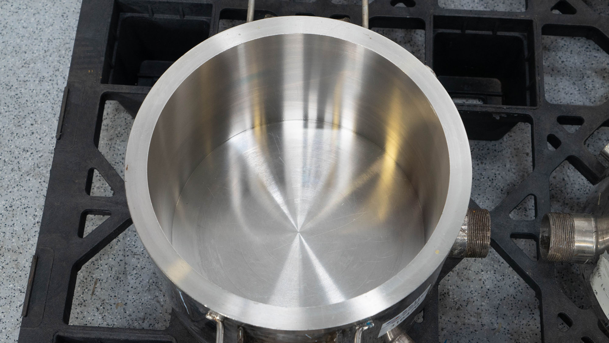 """12.5"""" Stainless Steel Mixing Cans, (4)"""