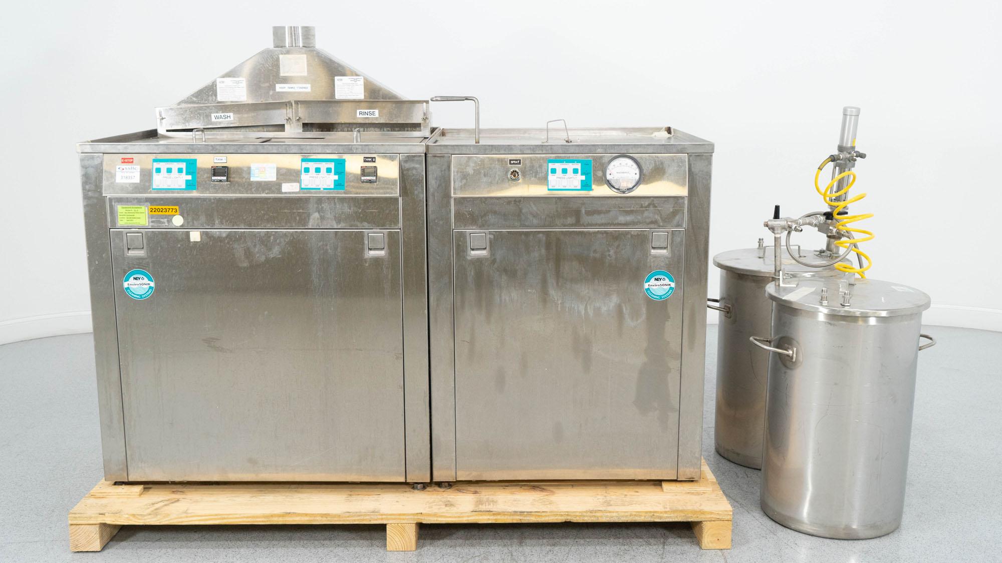 NEY Barkmeyer EnviroSonik Cleaning System, Model BCS-10-US