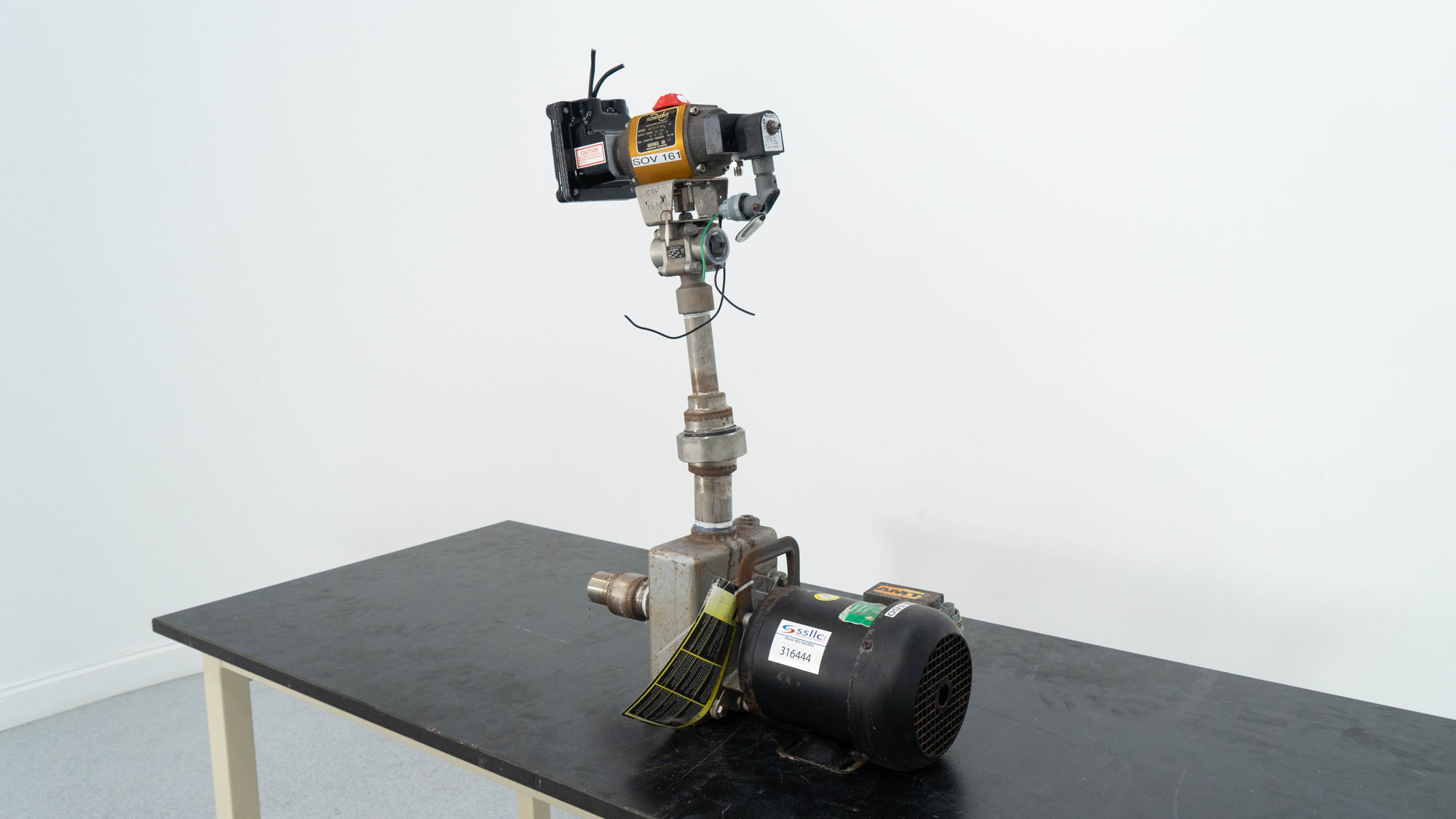 Weg Motor with Actuator