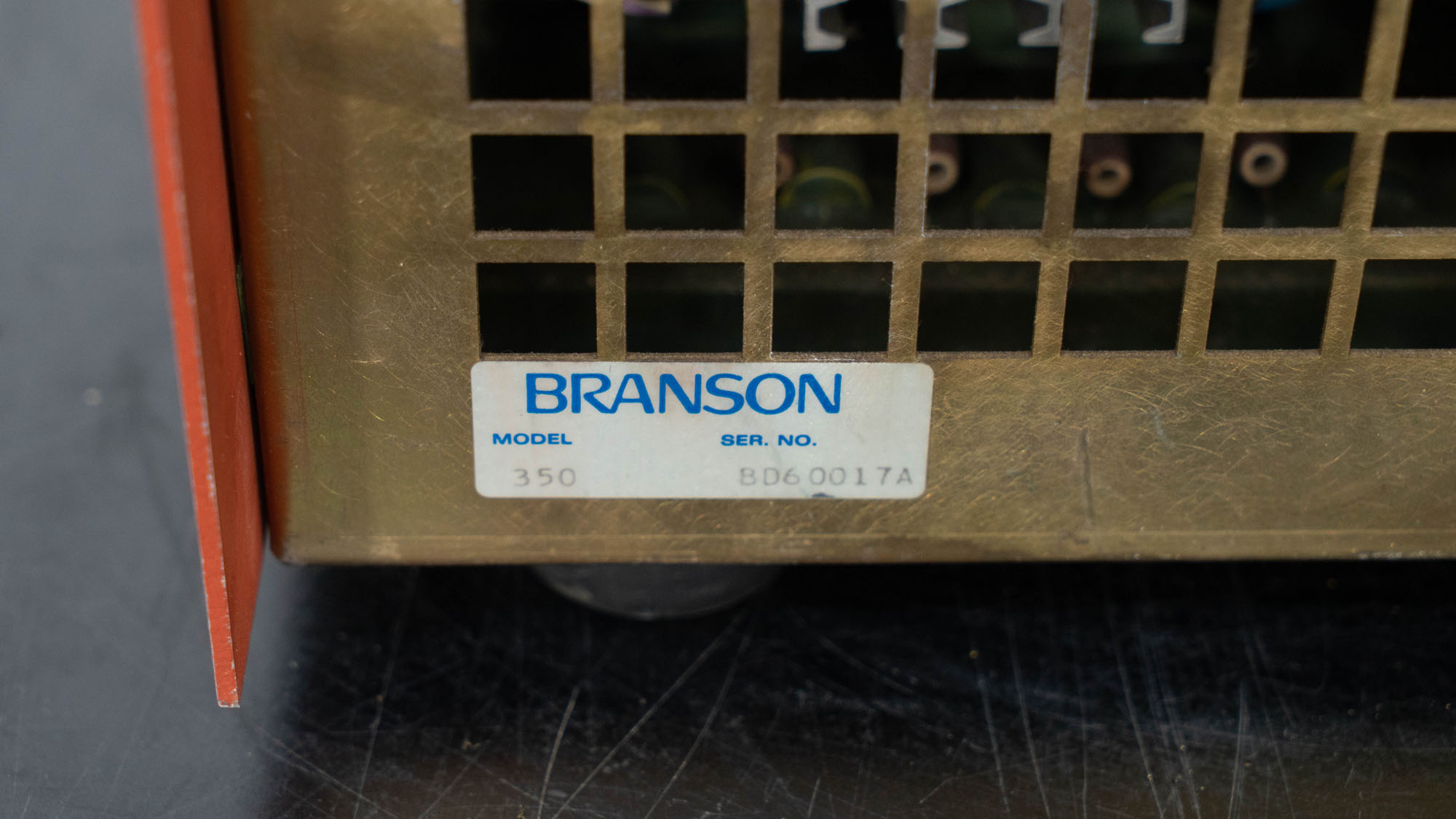 Branson Cell Disruptor, Model 350