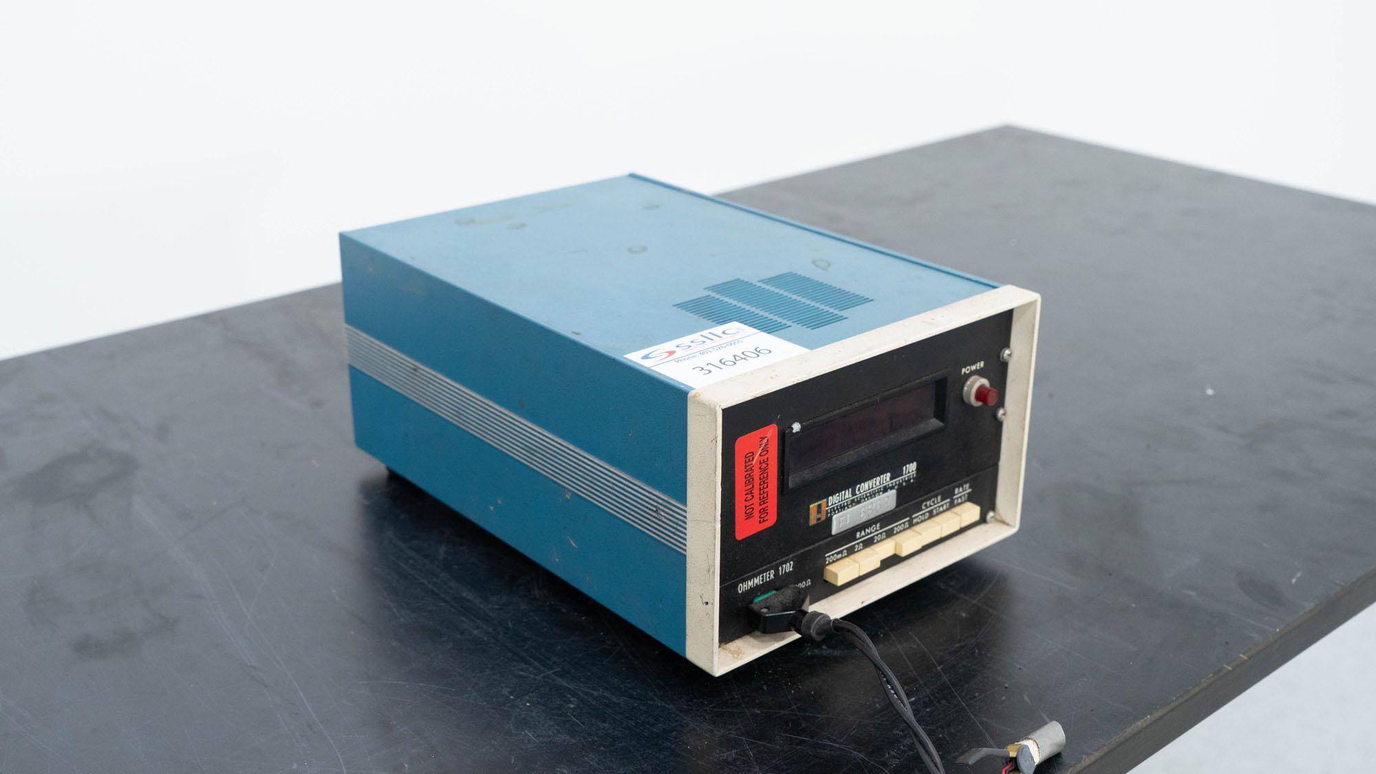 Electro Scientific Digital Converter, Model 1700