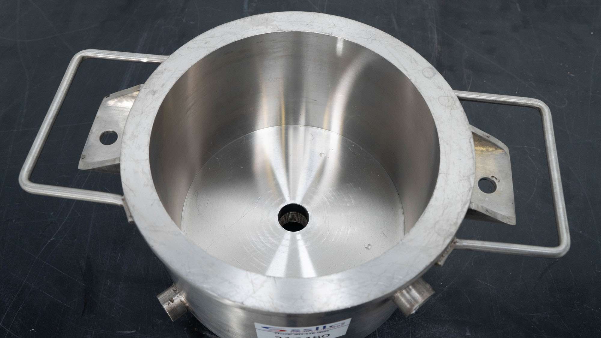 """8.5"""" Stainless Steel Mixing Can"""