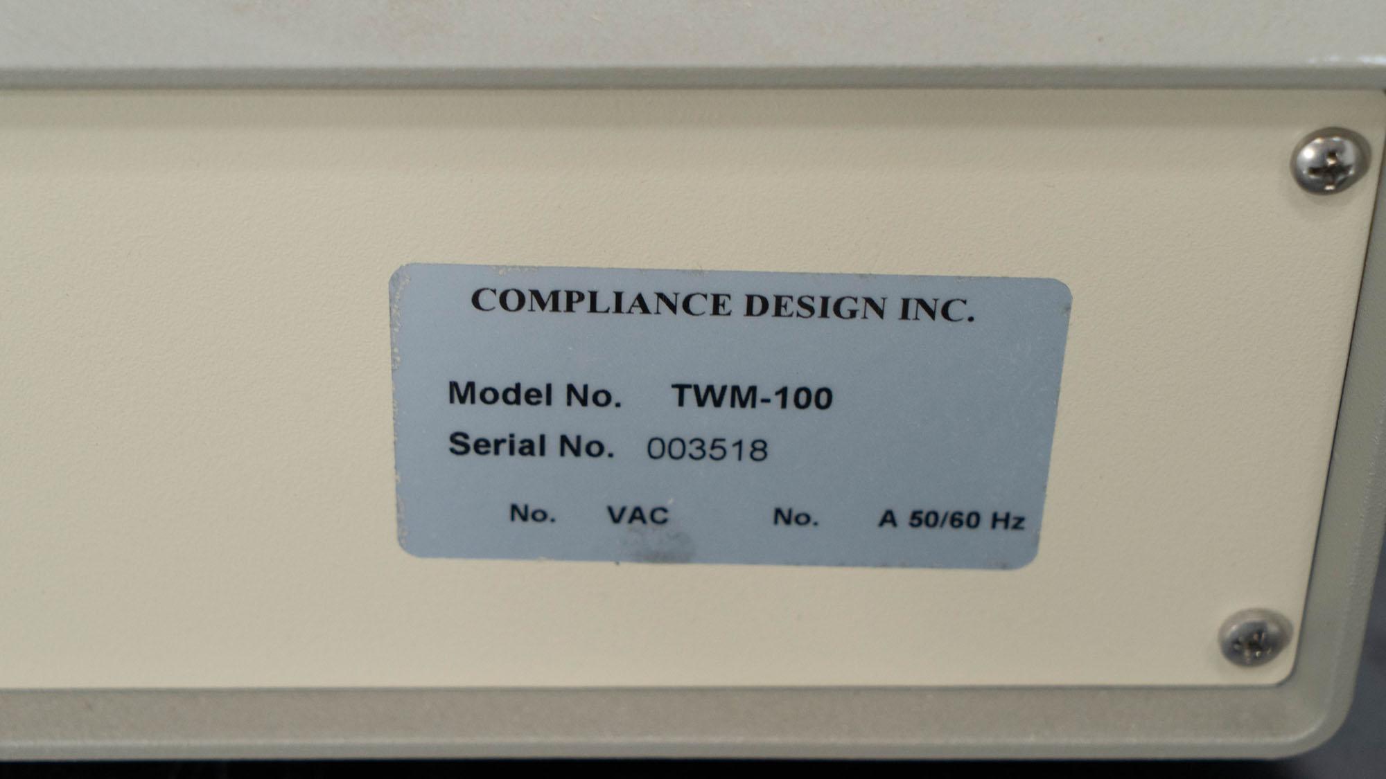 Compliance Design Transient Waveform Monitor, Model TWM-100