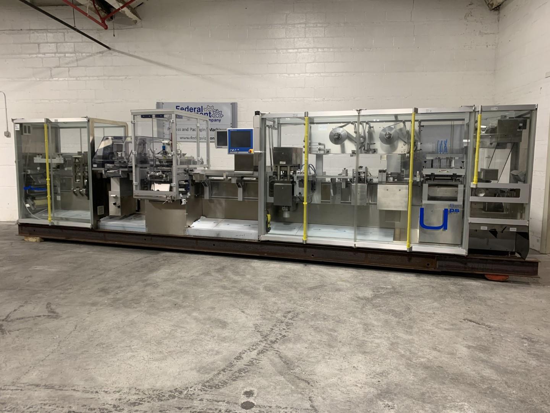 Uhlmann Thermoformer Dermal Patch Line, Model UPS5 ET