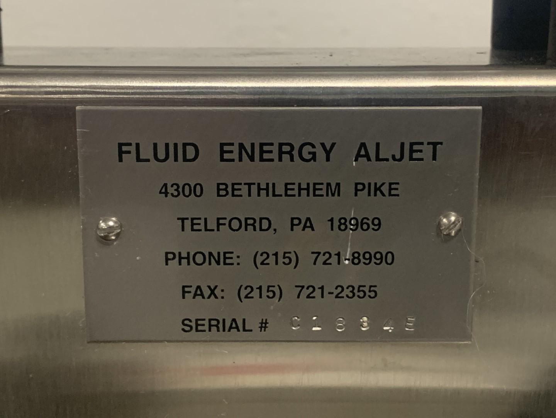 Fluid Energy Aljet Jet-O-Mizer 00 Air Jet Micronizer Mill