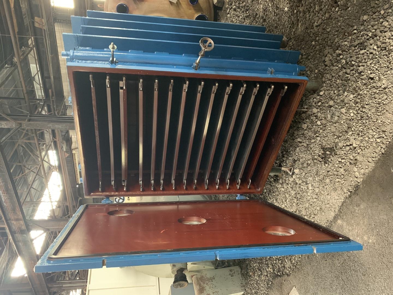 158.8 Sq Ft Hull Vacuum Shelf Dryer, C/S