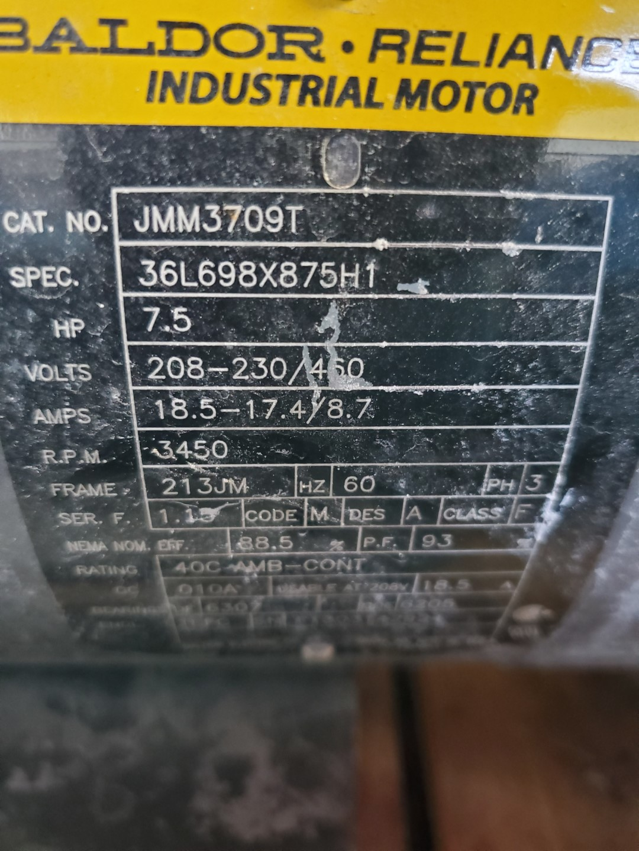 "1"" x 2"" Goulds Centrifugal Pump, S/S, 7.5 HP"