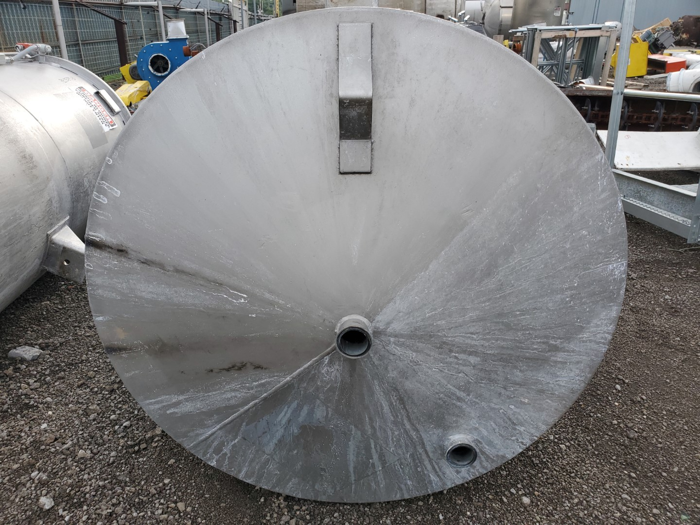 360 Gal Wolfe Mechanical Mix Tank, 304 S/S, 3 HP