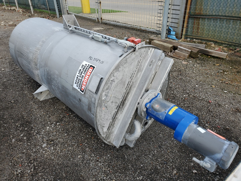 370 Gal Wolfe Mechanical Mix Tank, 304 S/S, 3 HP