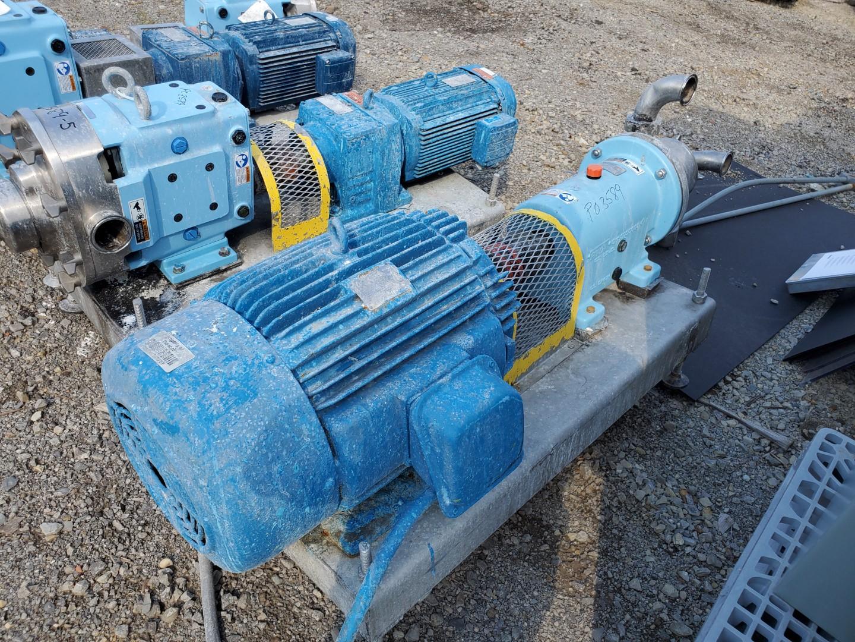 SPX Inline Shear Pump, Model SP4, S/S, 15 HP