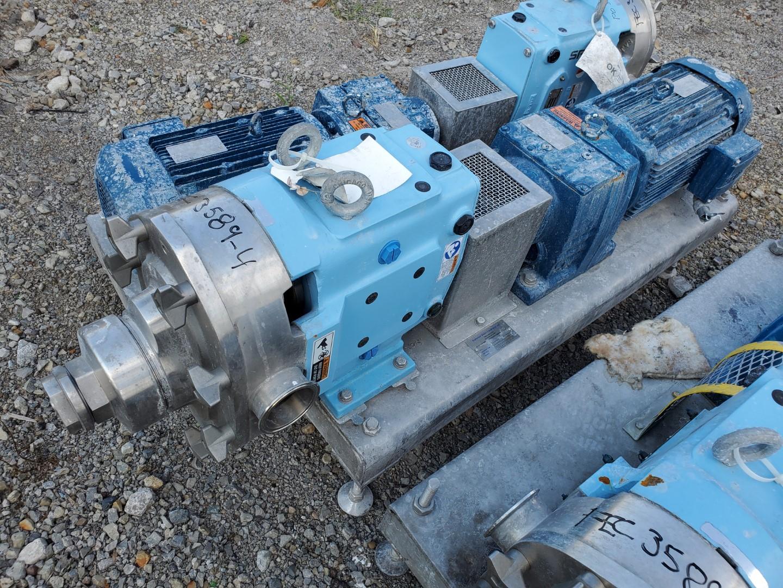 """2.5"""" SPX Waukesha Rotary Lobe Pump, S/S, 10 HP"""