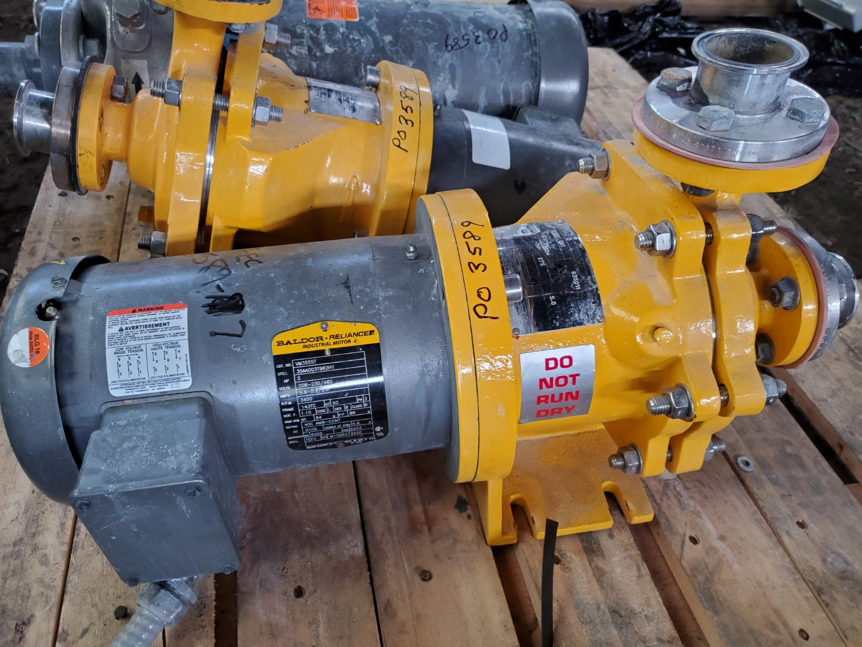 "1"" x 1"" Kontro Centrifugal Pump, S/S, 2 HP"