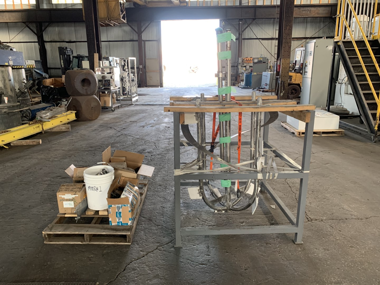 200 Gal BV Speciaal Roestvrijstall Twin Motion Kettle, S/S