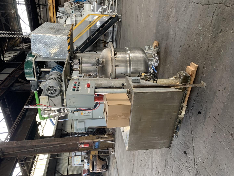 10/7.5 HP Twin Motion Vacuum Mixer, S/S
