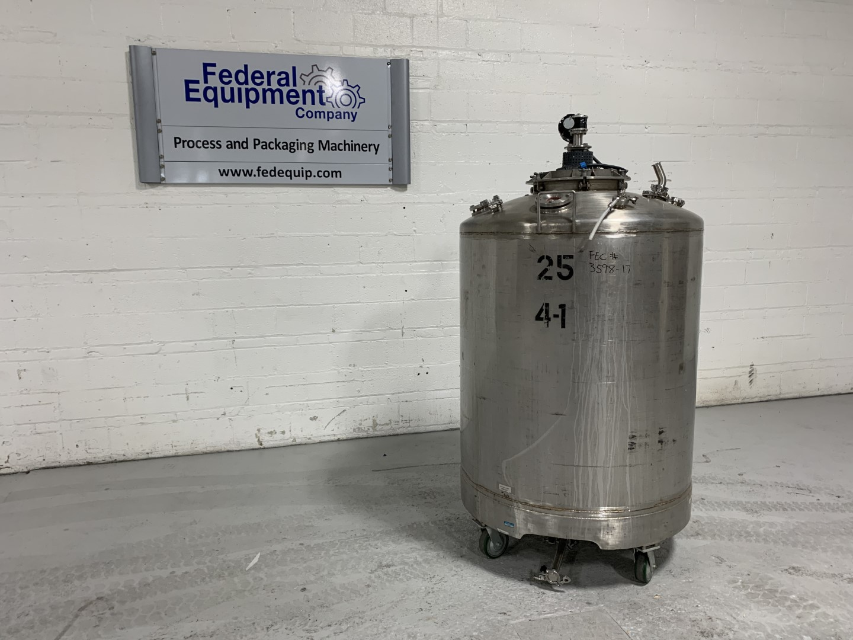 1,400 Liter Stainless Steel Mix Tank