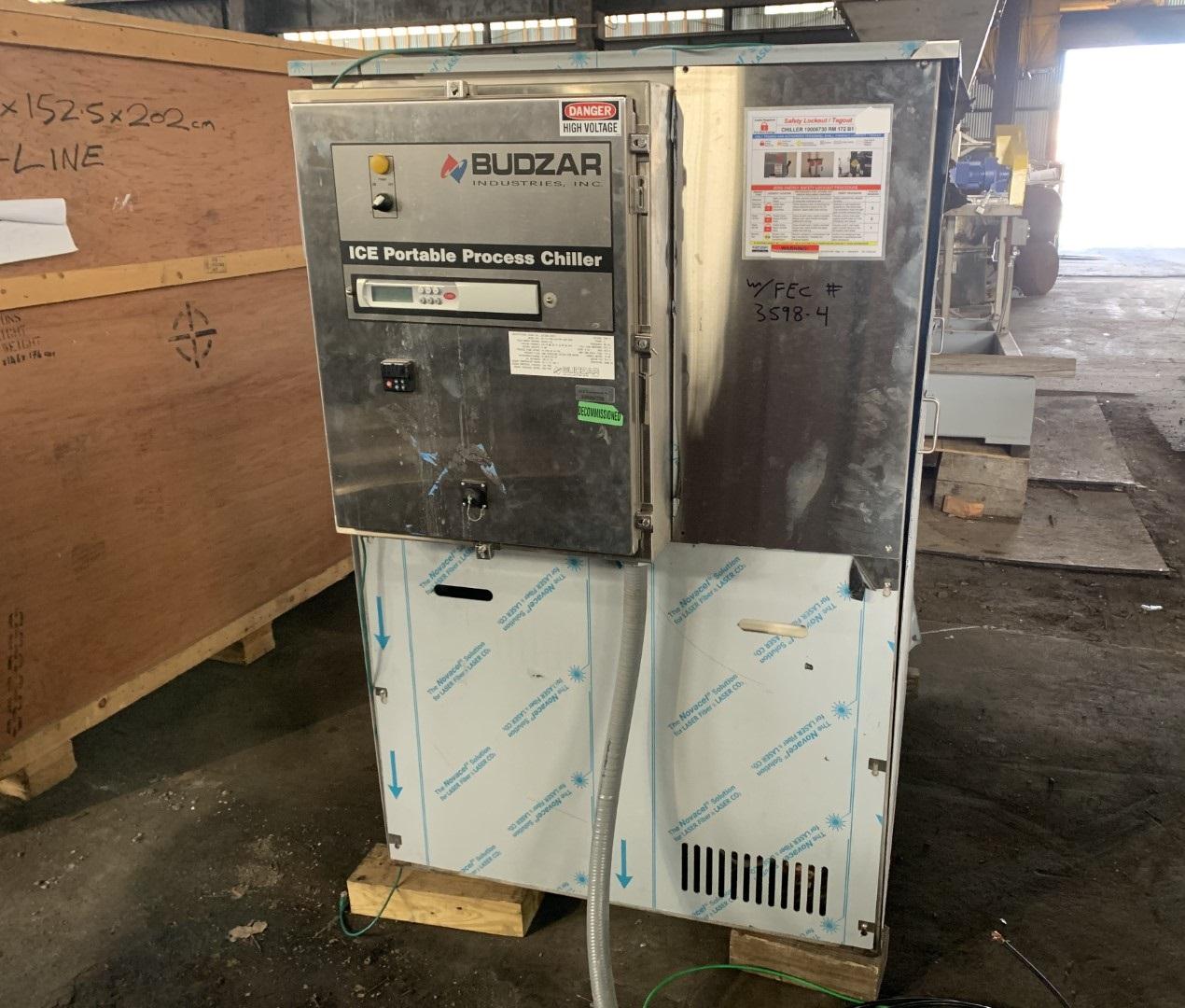 Budzar Industries Temperature Control Unit, Model AC-10-CCB- 24/1WT-924-DSP