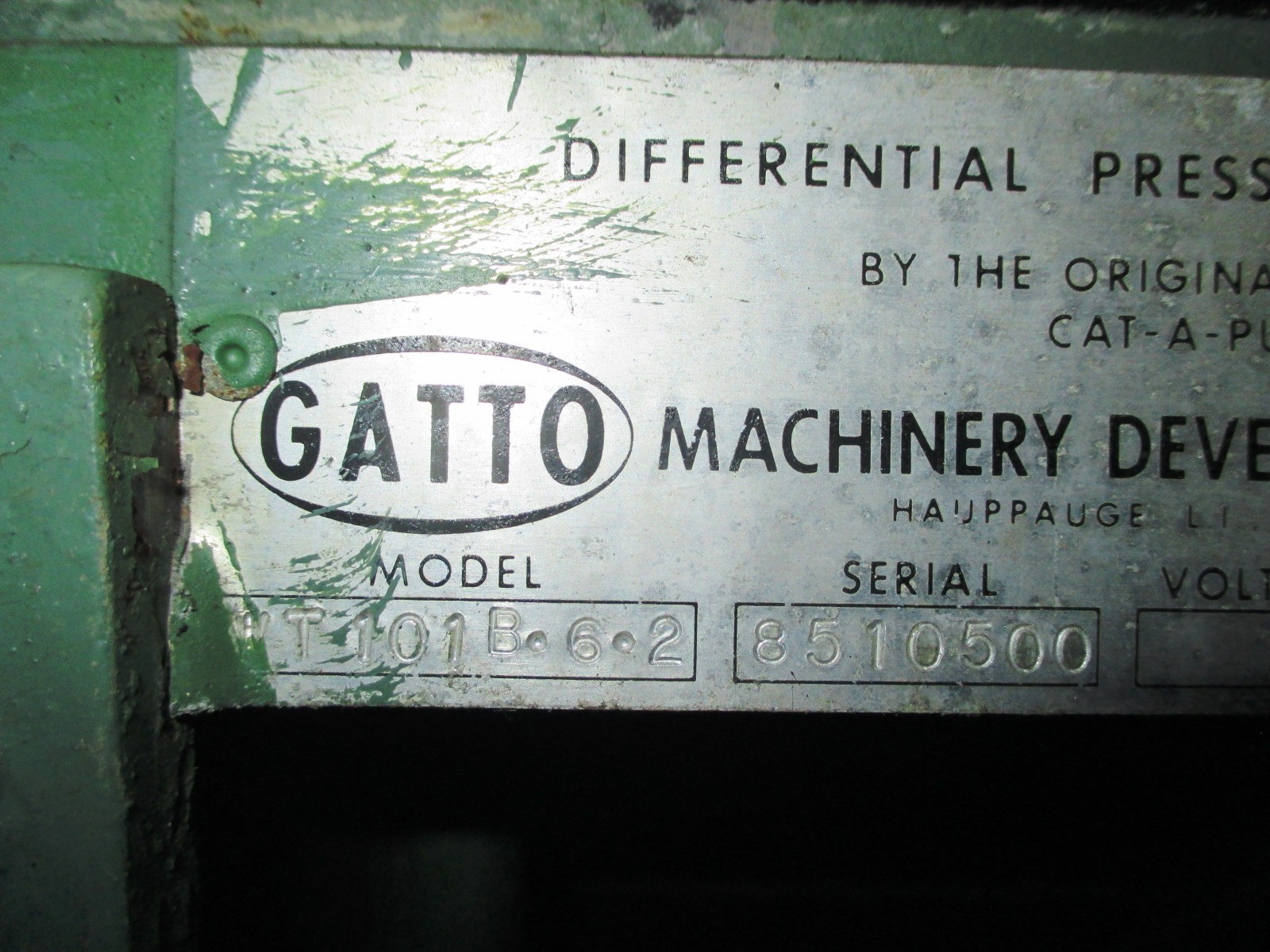 6'' GATTO FLOOD COOLING TANK, S/S