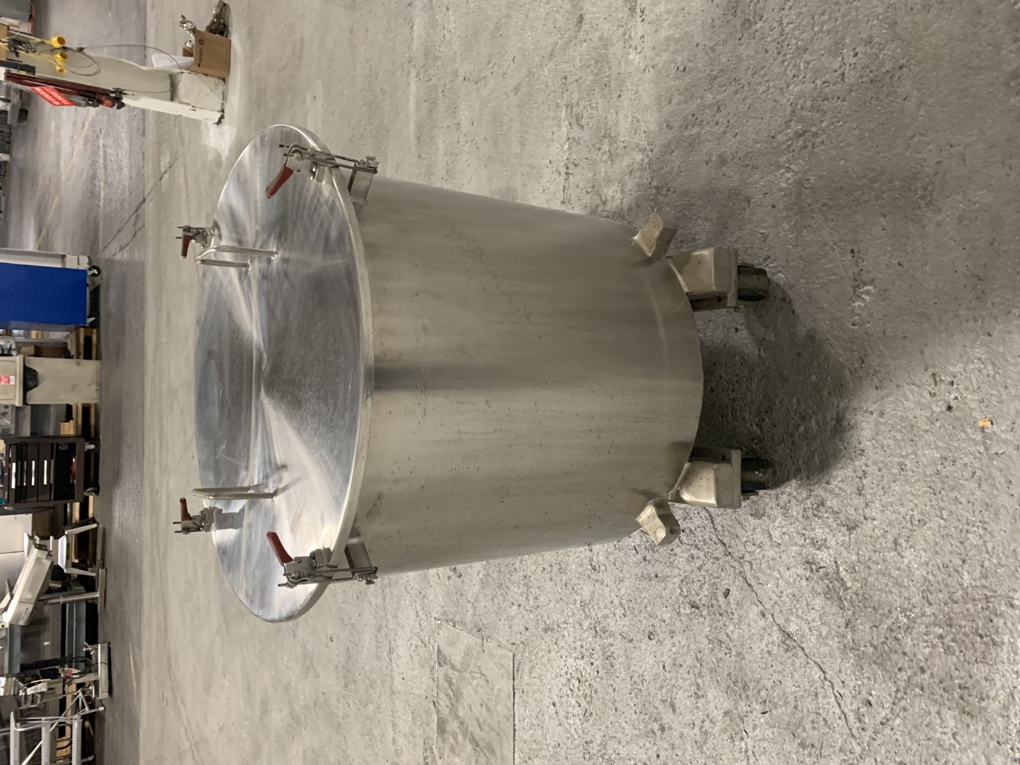 40 Gal Ross Mixing Can, S/S
