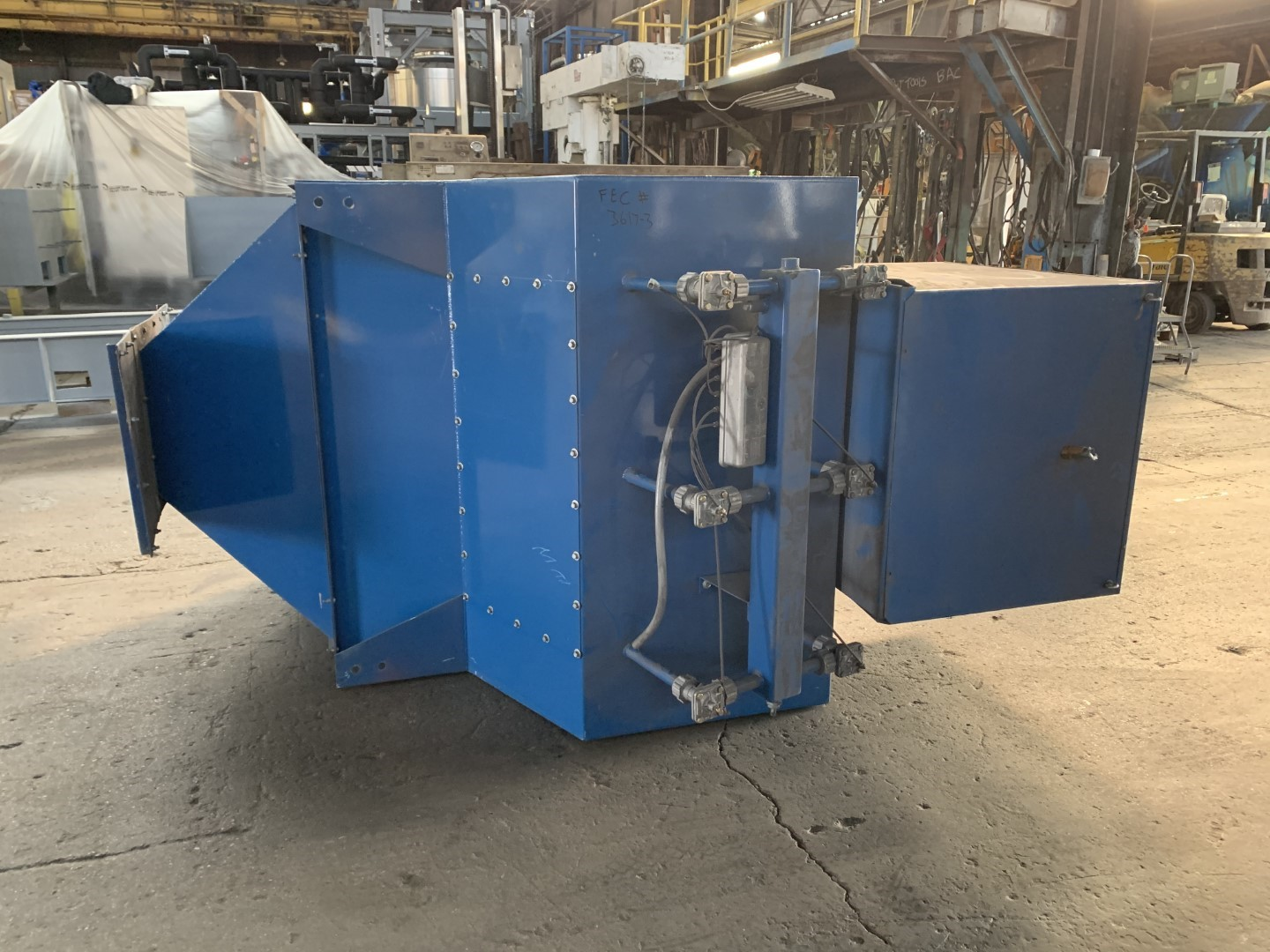 2,280 Sq Ft Torit Dust Collector, C/S