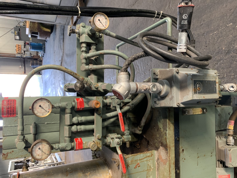 5 HP Myers Dual Shaft Vacuum Mixer, Model VHC-L550-1016, S/S, XP