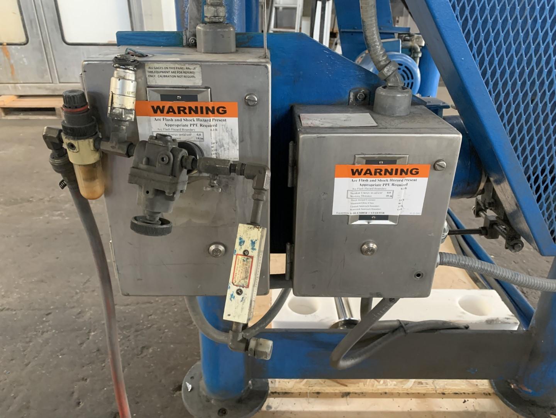 3 Cu Ft P-K Twin Shell Blender, S/S, Bar, 290# Density