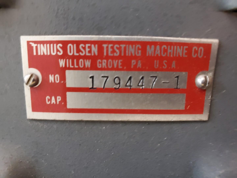 Tinius Olsen Melt Indexer, Model MP393