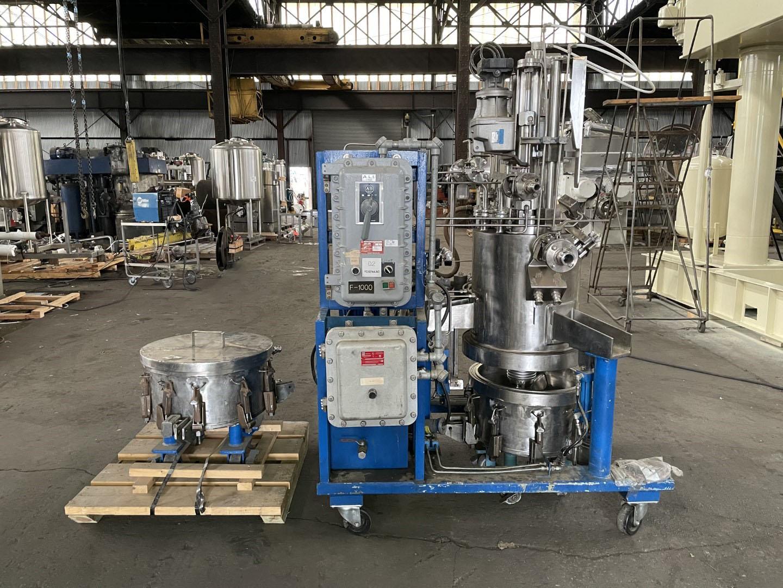 0.2 Sq Meter Rosenmund Nutsche Filter, 316L s/s