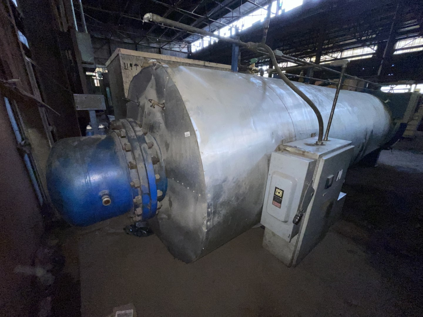 """52"""" Anchor Autoclave Systems Horizontal Autoclave, 100#"""
